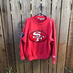 Vintage NFL SF 49ers Men's Crewneck
